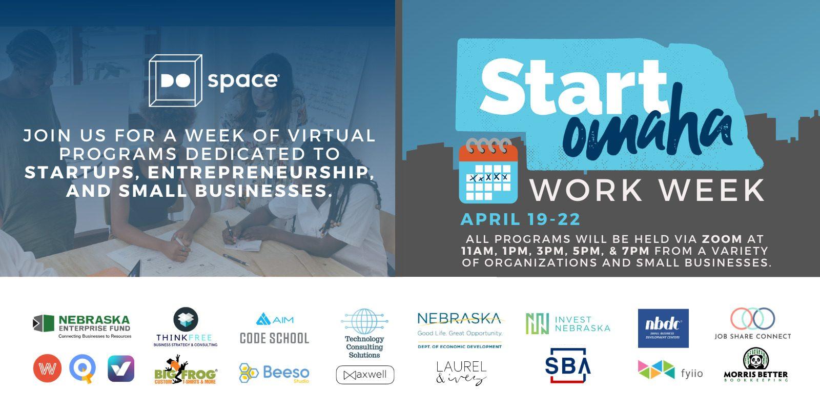 2021 Start Omaha Work Week